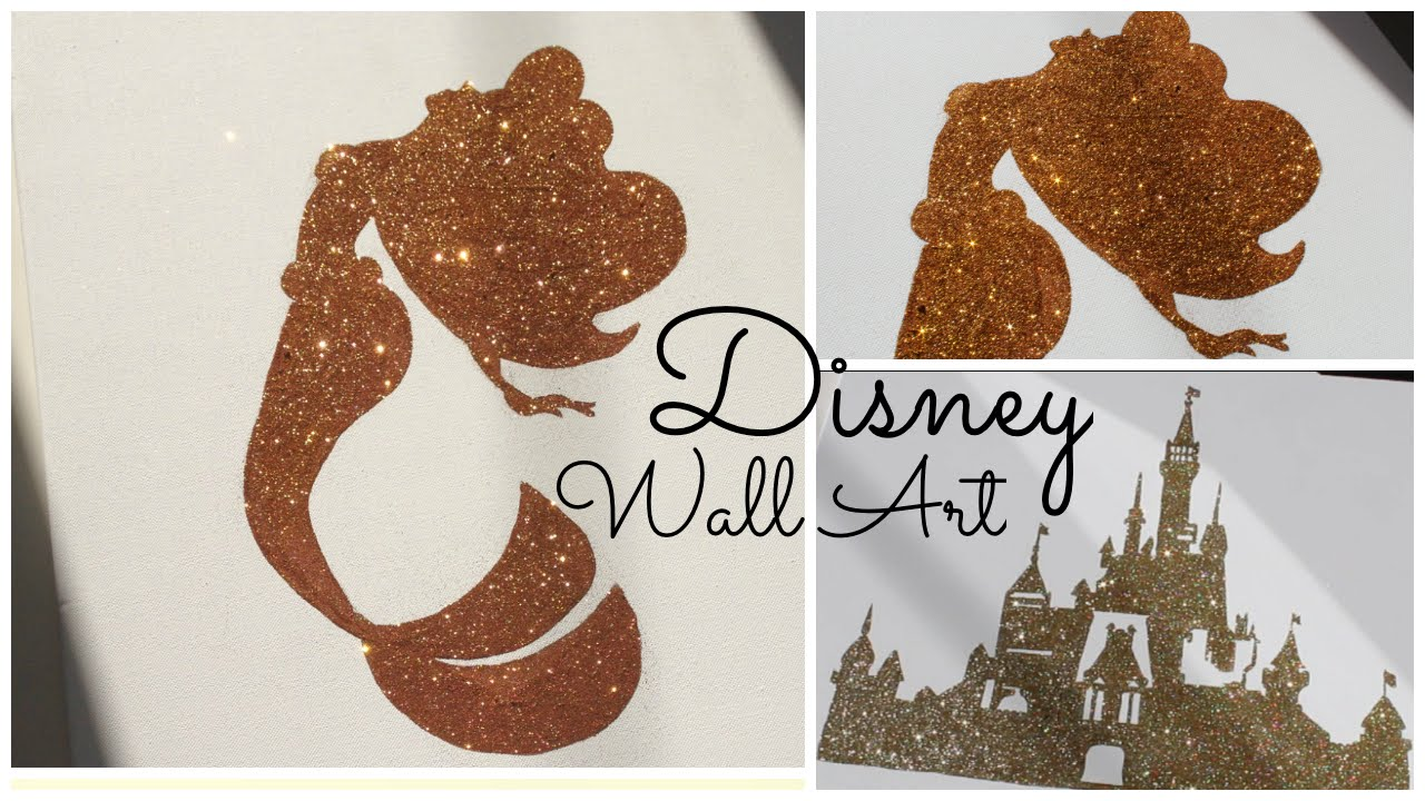 Disney Wall Art Toiles F 233 233 Riques Diy Georgiasecrets