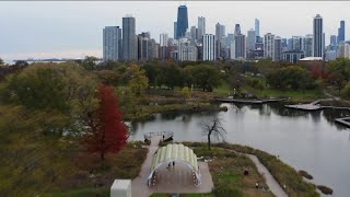 Chicago couple`s engagement luckily caught by drone photographer