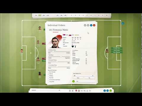 FIFA MANAGER 13 Good Tactic