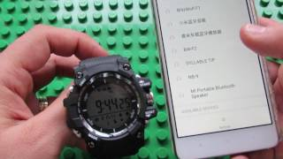 unboxing NO.1 F2 Bluetooth 4.0 Smartwatch