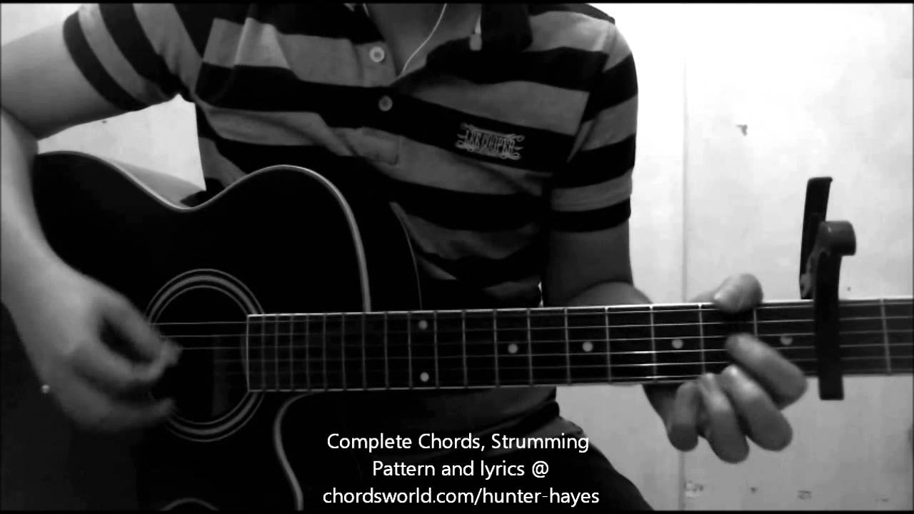 Storyline Chords By Hunter Hayes How To Play Chordsworld Com