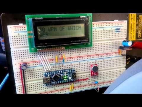 CW Decoder Arduino
