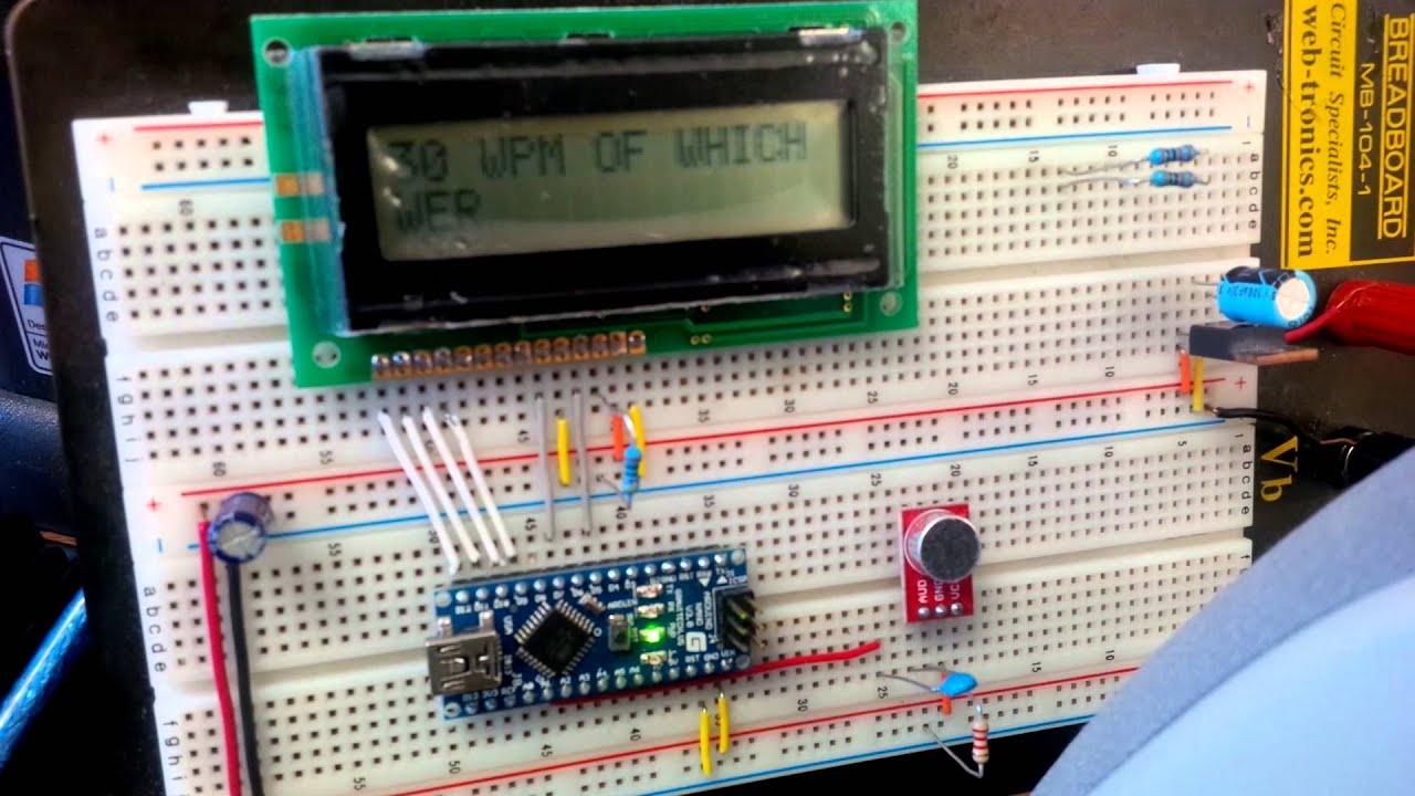 Arduino Based CW decoder  *UPDATED* | TRYON Amateur Radio Club K2JJI
