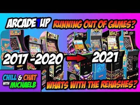 Arcade1Up Running Out Of Games? from MichaelBtheGameGenie