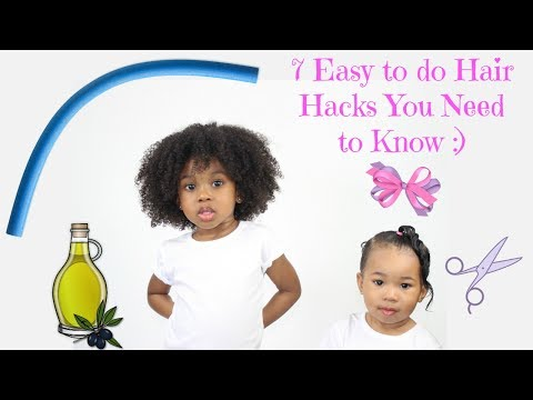 Thumbnail: 7 Hair Hacks When Doing Your Little One's Hair