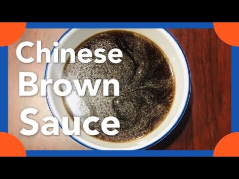 Chinese Brown Sauce. Really Good Lo Mein Sauce.