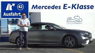 2016 mercedes benz e 400 4matic w213 fahrbericht der probefahrt test review ausfahrt tv