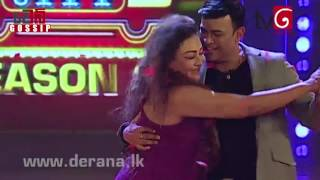 Repeat youtube video Geetha Kumarasinghe Dance With Ranjan Ramanayaka