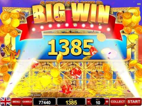 African Wild BIG WIN 10.000 Kč