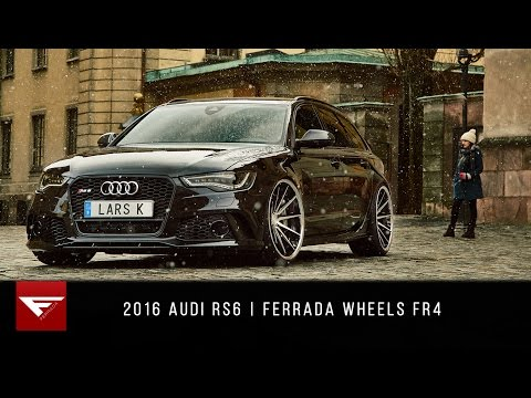 2016 Audi RS6 | 4k | Ferrada Wheels FR4