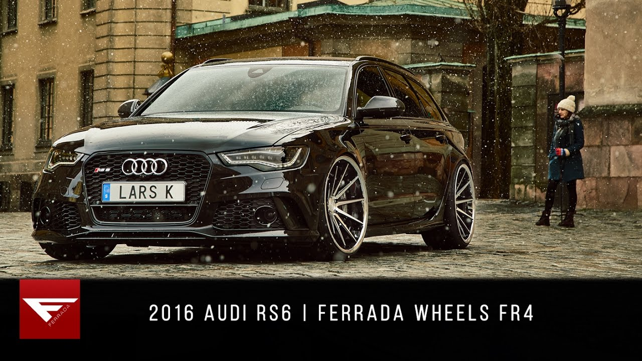 2016 Audi Rs6 4k Ferrada Wheels Fr4 Youtube