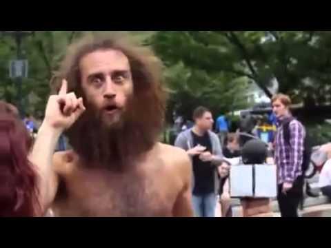 The World's Most Inspiring Mentally Insane Homeless Guy