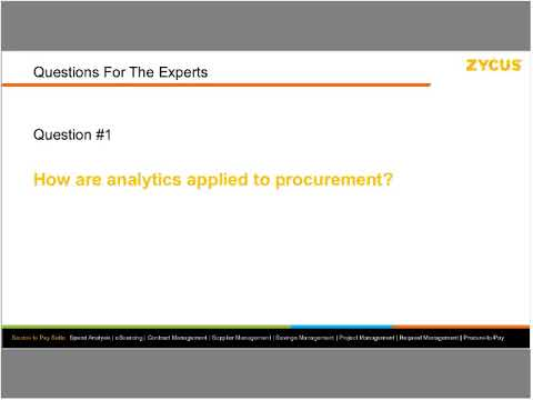 Does Analytics Really Lead to Better Procurement Performance?
