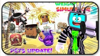 *Codes* Roblox Weight Lifting Simulator 3 Pet Update