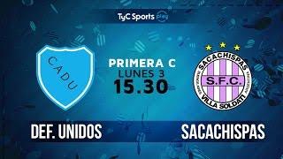CA Defensores Unidos vs Sacachispas FC full match