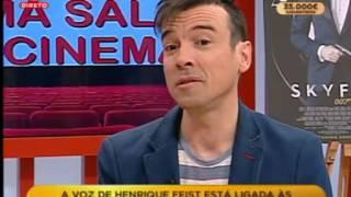 Entrevista a Henrique Feist sobre dobragens (2014)