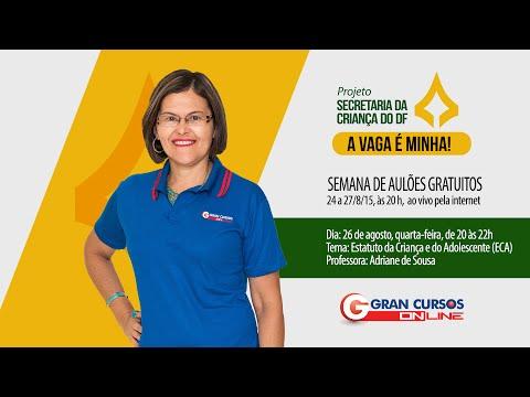 Projeto Secretaria da Criança - ECA - Prof. Adriane Sousa