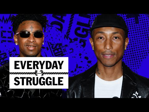 pharrell-says-'blurred-lines'-lawsuit-set-him-back,-does-21-savage-have-a-hit?- -everyday-struggle