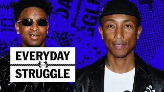 Pharrell Says 'Blurred Lines' Lawsuit Set Him Back, Does 21 Savage Have a Hit? | Everyday Struggle