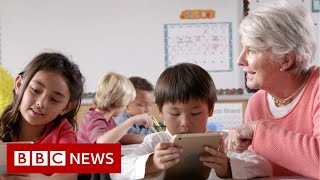 Reopening US schools 'makes our kids guinea pigs' - BBC News