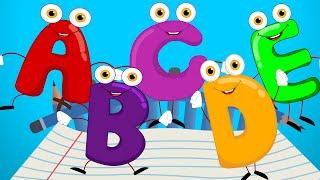 Fünf Kleine Alphabete | Kinderlieder Für Babys | Cartoon Videos Für Kinder, die von Kinder-Tv