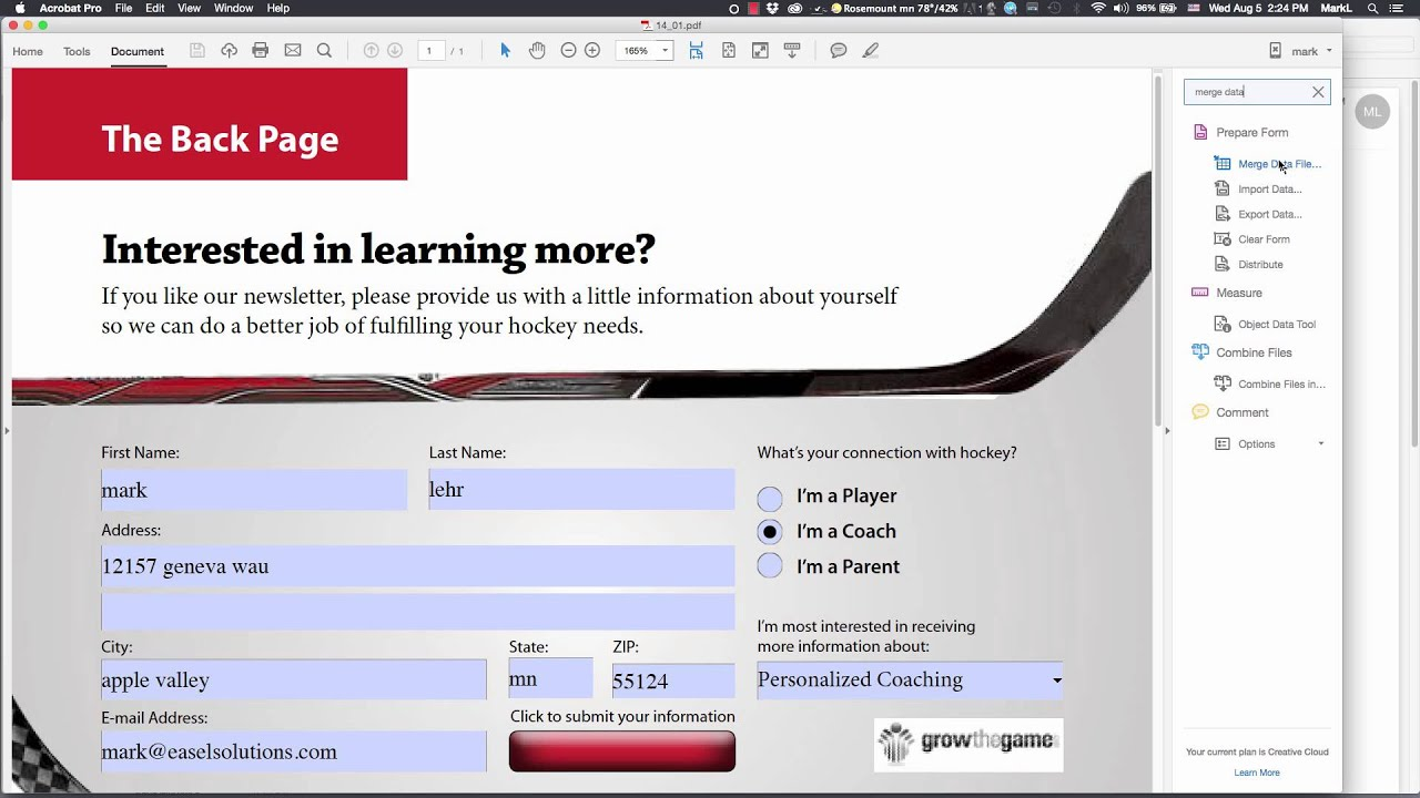 PDF form data to Excel - YouTube