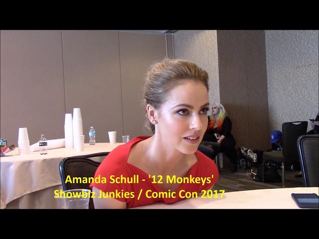 12 Monkeys Amanda Schull Interview, Season 4 (Comic Con)
