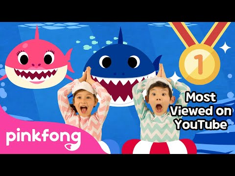Ba Shark Dance  Sing and Dance!  Animal Songs  PINKFONG Songs for Children