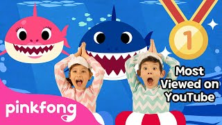 Download lagu Baby Shark Dance | Most Viewed Video on YouTube | PINKFONG Songs for Children