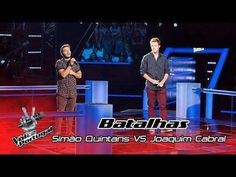 "Simão Quintans VS Joaquim Cabral - ""Sign of the Times"" | Batalha | The Voice Portugal"