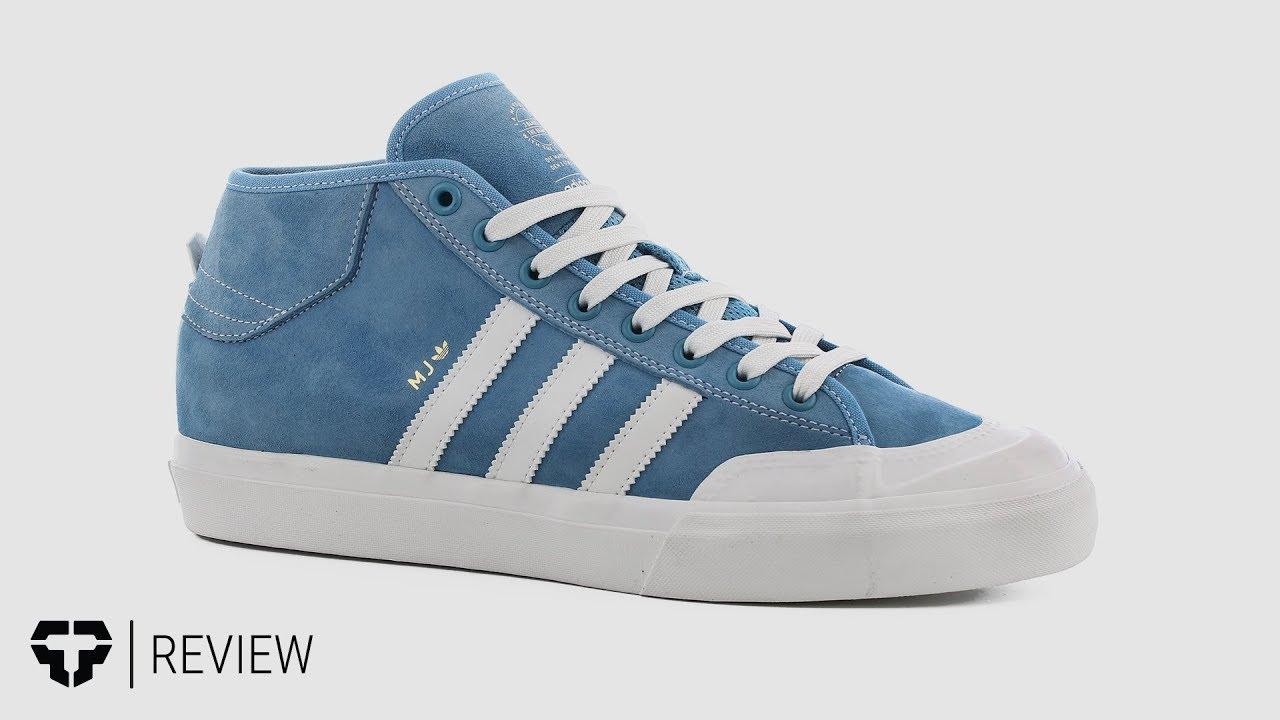 huge discount 601be 1d194 Adidas Marc Johnson Matchcourt Mid Skate Shoes Review - Tactics.com