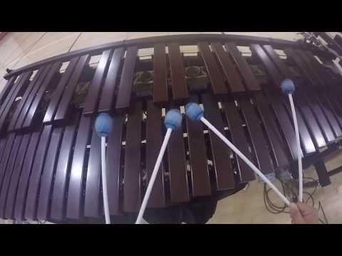 Westlake HS Drumline 2018 Marimba Cam - Annie Wong