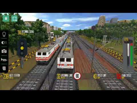 Indian train simulator game wap-7model electrical dual engines