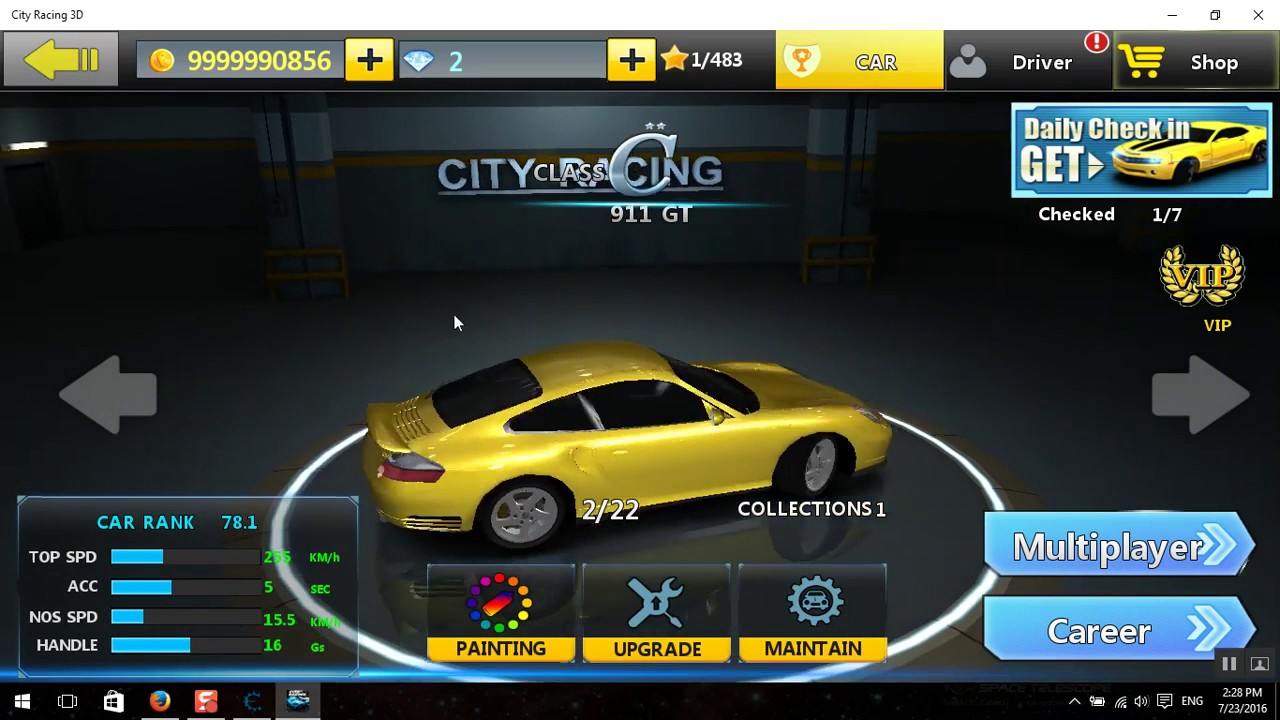 How To Hack City Racing 3d On Windows 10 Youtube