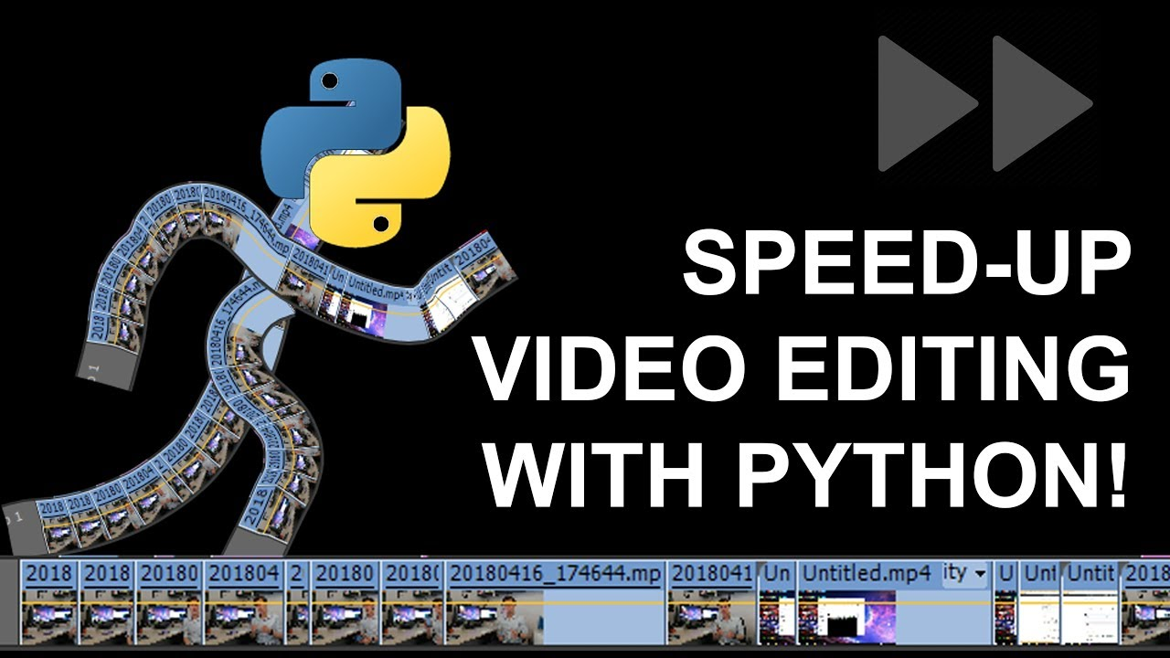 Speed-up Video Editing with Python, Numpy and FFmpeg! - Python Project  Ideas #1