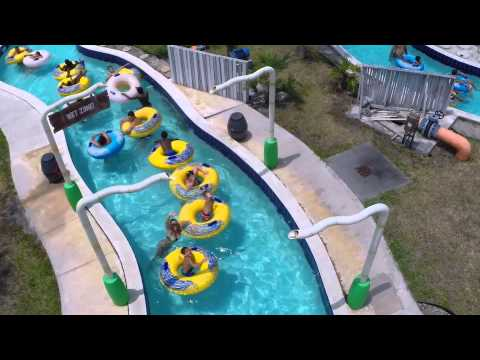 Paradise Cove Waterpark At C.B. Smith Park DRONE VIDEO!