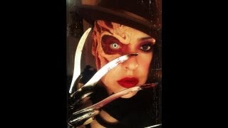 FREDDY KRUEGER MAKEUP TUTORIAL (HALLOWEEN SERIES 2012)
