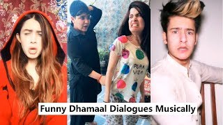 Dhamaal Dialogues Funny Musically | Manjul Khattar, Jenny and More
