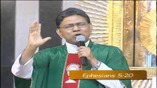 Fr. Augustine Vallooran VC Total Surrender to God) (Holy Mass Homily) (English)