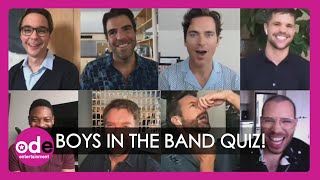 The Boys In The Band Cast Play Party-Themed Quick-Fire