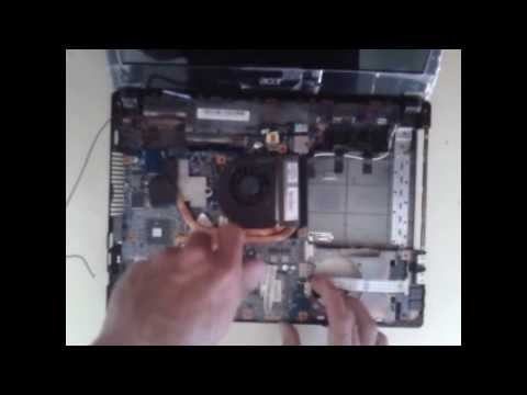 how to service laptop (acer 4741G)
