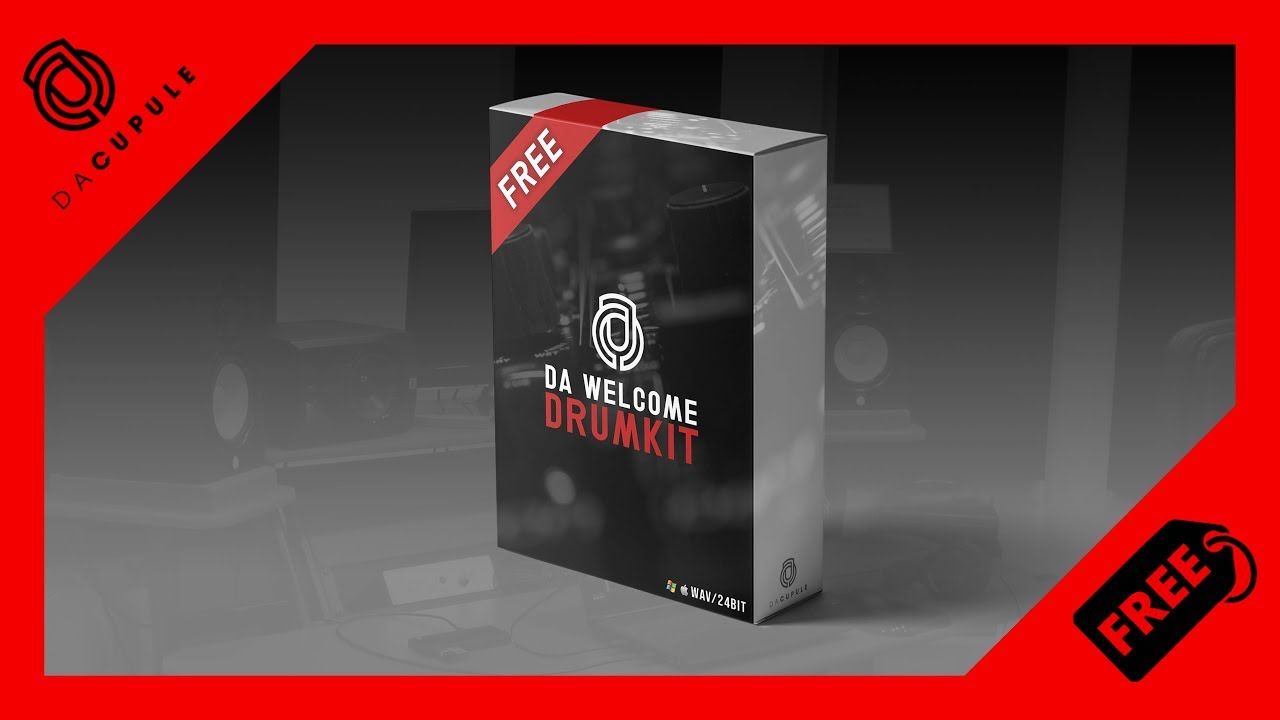 FREE DRUM KIT 2019 | HIP HOP - TRAP DRUM KIT FREE DOWNLOAD