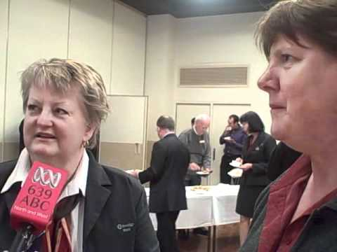 Leonie and Jenny from Bendigo Bank in Port Adelaide