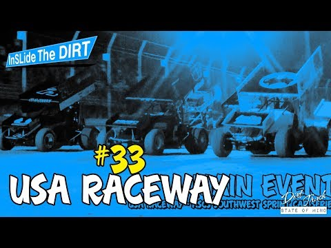 USA Raceway - ASCS Winged & Non-Wing Sprint Cars - InSLide The DIRT #33
