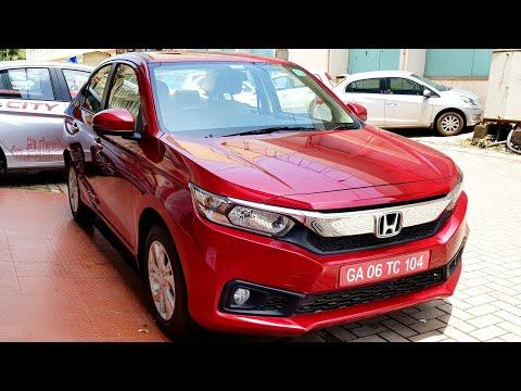2018 New Honda Amaze | VX | Price | Mileage | Interior & Exterior | Features | Specs