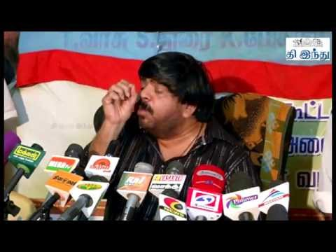 T Rajendar Press Meet - Post Parliamentary Election | Tamil The Hindu