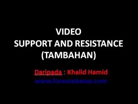 Video Cara Melukis Support Dan SNR - Panduan Trade Forex