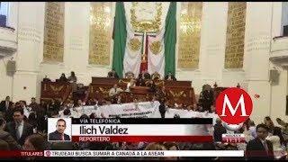 PRD 'madruga' a Morena y toma tribuna en ALDF