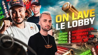 LA LOCKBYZIEGA LAVE LE LOBBY ! (Ft. Squeezie, Locklear & Doigby)