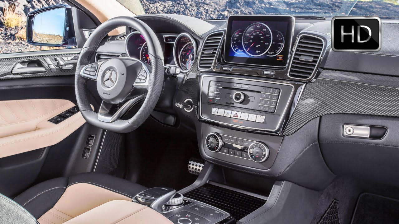 Gle 450 Coupe >> 2016 Mercedes-Benz GLE 450 AMG 4Matic Coupe Interior ...